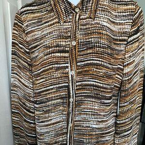 Alfani woman's blouse size 4